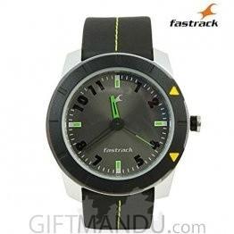 Fastrack Grey Dial Analog Watch for Men (3015AL02)