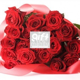 30 Fresh Luxury Dutch Roses Bouquet