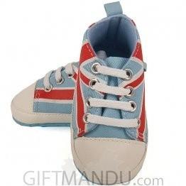 Cute Sky Blue Converse Shoe For Boy (9-12 months)