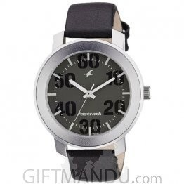 Fastrack Grey Dial Analog Watch for Men (3121SL02)
