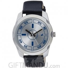 Fastrack Silver Dial Analog Watch for Men (3123SL01)