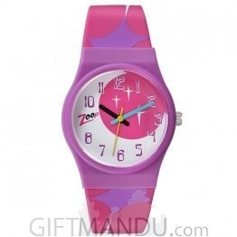 Titan Zoop Pink Dial Analog Watch for Kids (C3028PP08)