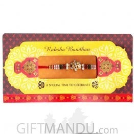 Raksha Bandhan A Special Time To Celebrate Greeting Card - (Rakhi Thread Included)