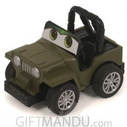 Die Cast Car Mini (Army Jeep)