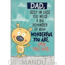 DAD, How Wonderful You Are  - Greeting Card