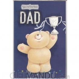 You're The Best Dad No-1 - Greeting Card