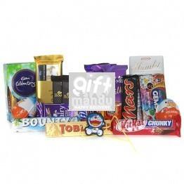 Chocolates Gift Hamper for Kids Rakhi Celebrations