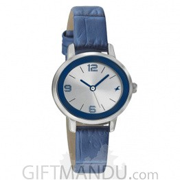 Fastrack Silver Dial Analog Women's Watch (6107SL01)