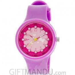 Zoop Analog Pink Dial Children's Watch -C4038PP03