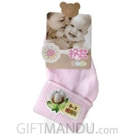Pink Cotton Baby Socks