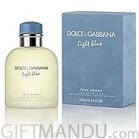D&G Light Blue EDT 125ml Perfume Spray for Men