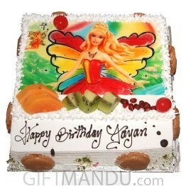 Delicious Photo Cake (Print Favorite Character on Cake) for Kathmandu Valley
