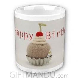 Happy Birthday Cup (Cherry Top)
