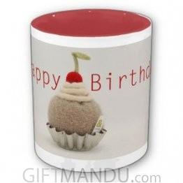 Happy Birthday Cup (Color Interior)