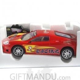 Radio Control Sunbird Racer Car (Red)