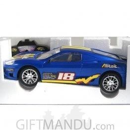 Radio Control Sunbird Racer Car (Blue)