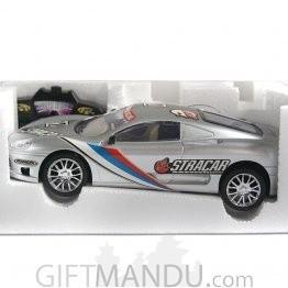 Radio Control Sunbird Racer Car (Gray)