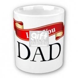Love you Dad (Ribbon Design)