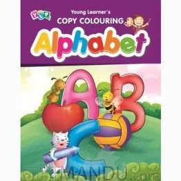Alphabet - Copy Colouring Book by Young Learner's