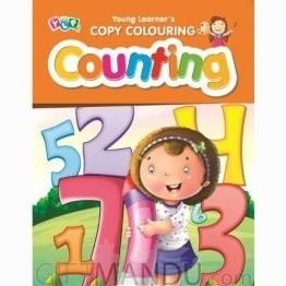 Counting - Copy Colouring Book by Young Learner's