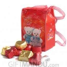 Special Gourmet Assorted Chocolates in Beautiful Box Bag