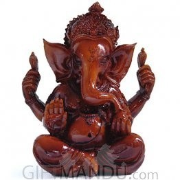 Ganesh Ji Statue (3.5 inches Tall)
