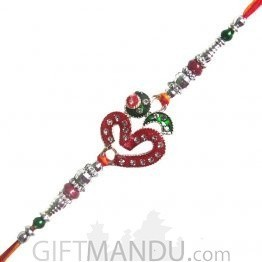 Om Colorful Rakhi - Beautiful Design