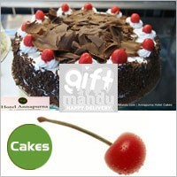 Black Forest Love Cake 1kg from Hotel Annapurna