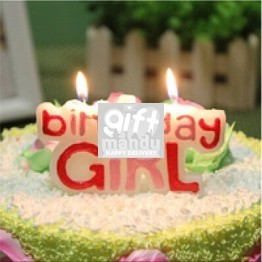 Birthday Girl Candle (For Birthday Cakes Only)