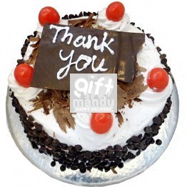 Say Thank You With Mini Black Forest Cake from Hotel Annapurna