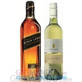 Black and White: JW Black Label and Sweet White Wine from Spain
