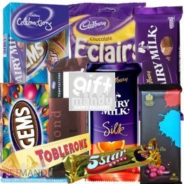 Cadbury Mix Bag Chocolates (10 Chocolates)