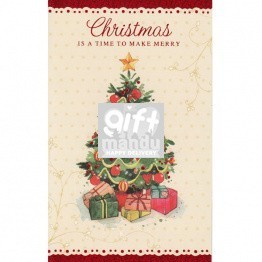 Christmas Is A Time To Make Merry - Greeting Card