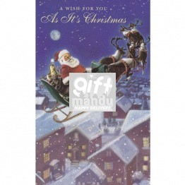 A Wish For You As It's Christmas - Greeting Card