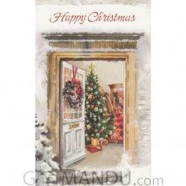 Happy Christmas - Greeting Card