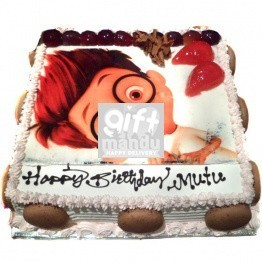 Cartoon Character Photo Cake (Print Favorite Character on Cake) for Kathmandu Valley