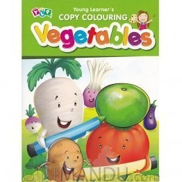 Vegetables - Copy Colouring Book by Young Learner's