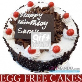 EGGLESS Five Star Black Forest Cake