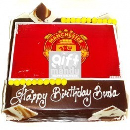Football Craze Photo Cake (Print Any Photo on Cake) for Kathmandu Valley