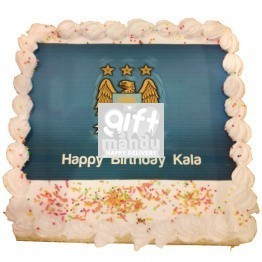 Football Love Photo Cake (Print Any Photo on Cake) for Kathmandu Valley