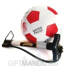 Football and Ball Pump Gift