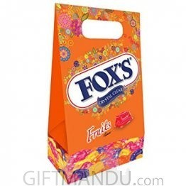 Fox's Crystal Clear Fruits Flavored Candy Gift Pack (180g)