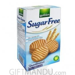 Gullon Sugar Free Shortbread Cookies 330g