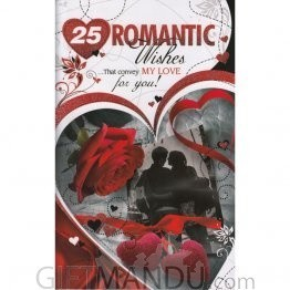 25 Romantic Wishes - Greeting Card