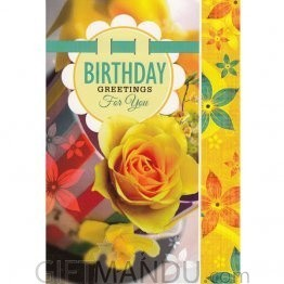 Birthday Greetings for You - Greeting Card
