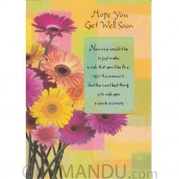 Hope You Get Well Soon - Greeting Card