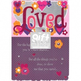 You're Loved - Greeting Card