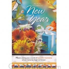 As You Celebrate New Year - Greeting Card