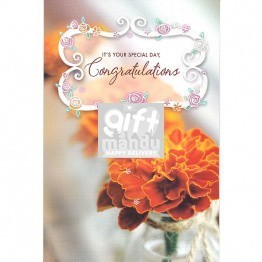 Special Day Congratulations - Greeting Card