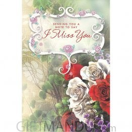 Note to Say I Miss You - Greeting Card